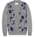 Maison Margiela - Patchwork Patterned Wool Cardigan