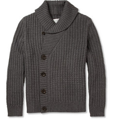 Maison Martin Margiela Chunky Cotton and Wool-Blend Cardigan