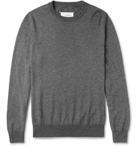 Maison Martin Margiela Cotton and Wool-Blend Sweater