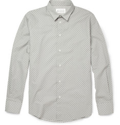 Maison Martin Margiela Reflective Polka Dot Cotton Shirt