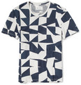 Maison Margiela Patchwork Cotton T-Shirt