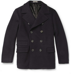Boglioli Slim-Fit Wool-Blend Peacoat