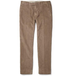 Boglioli Regular-Fit Garment-Dyed Corduroy Trousers
