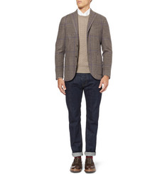 Boglioli K Unstructured Wool, Camel and Cashmere-Blend Blazer