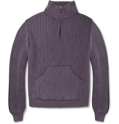Boglioli Ribbed Wool Sweater
