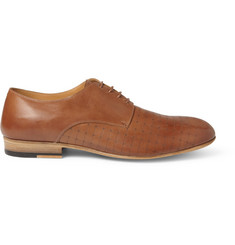 Maison Martin Margiela Laser-Cut Leather Derby Shoes