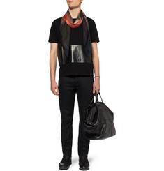 Givenchy Doberman-Print Modal and Cashmere-Blend Scarf