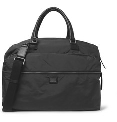 Dolce & Gabbana Leather-Trimmed Holdall Bag