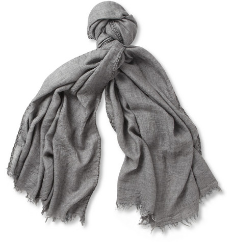 Dolce & Gabbana Lightweight Modal and Wool-Blend Scarf