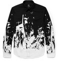 McQ Alexander McQueen Slim-Fit Printed Cotton Shirt