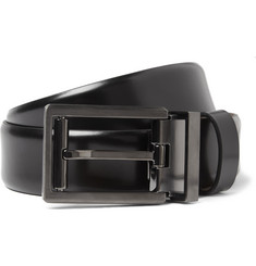 Lanvin Multi-Buckle Leather Belt
