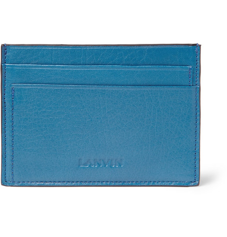 Lanvin Leather Card Holder