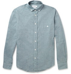 Richard James Button-Down Collar Cotton Shirt