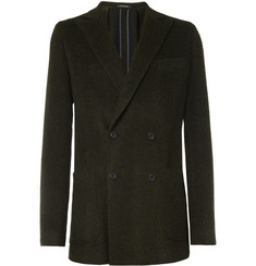 Richard James Spirit Unstructured Textured Wool-Blend Blazer