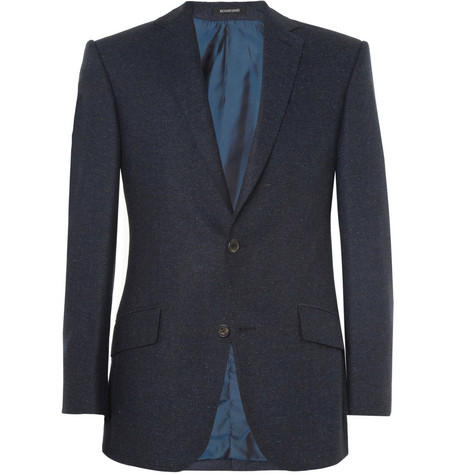 Richard James Slim-Fit Donegal Wool-Tweed Blazer