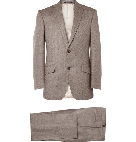 Richard James Hyde Herringbone Wool Suit