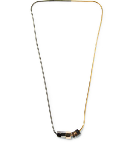 Lanvin Gold and Rhodium-plated Necklace
