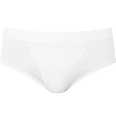 Derek Rose Lewis Mercerised Cotton Briefs
