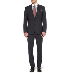 Dolce & Gabbana Navy Martini Slim-Fit Wool-Blend Suit