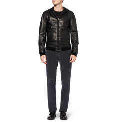 Dolce & Gabbana Slim-Fit Garment-Dyed Corduroy Trousers