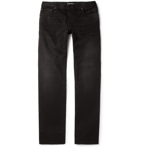 Dolce & Gabbana Green-Fit Straight-Fit Denim Jeans