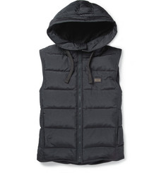 Dolce & Gabbana Down-Filled Hooded Gilet