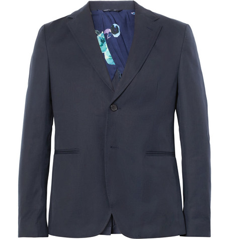 Raf Simons Slim-Fit Cotton-Twill Blazer