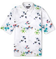Raf Simons - Flower-Print Short-Sleeved Cotton Shirt