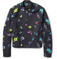 Raf Simons - Flower-Print Cotton-Twill Bomber Jacket
