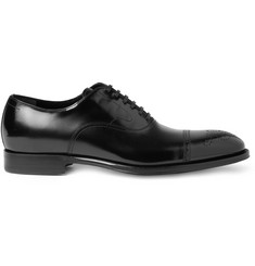 Dolce & Gabbana High-Shine Leather Brogues