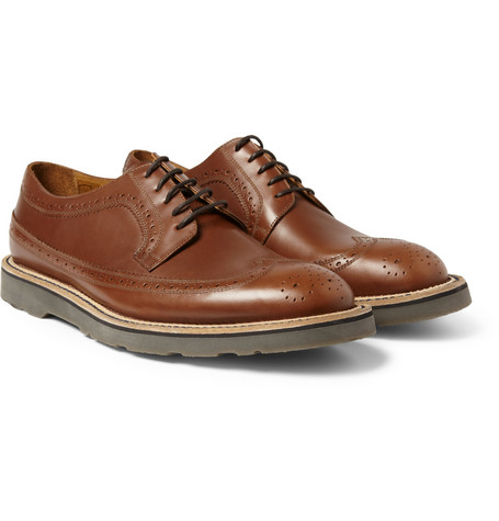 Paul Smith Shoes & Accessories Grand Longwing Leather Brogues