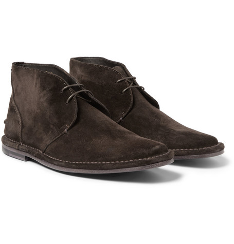 Paul Smith Shoes & Accessories Parka Suede Desert Boots