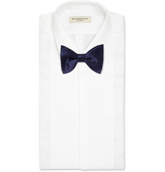 Lanvin New Alber Silk Bow Tie