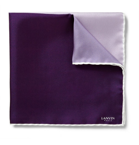 Lanvin Silk Pocket Square