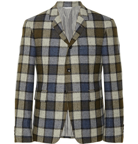 Thom Browne Check Wool Suit Jacket