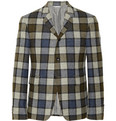 Thom Browne - Check Wool Suit Jacket