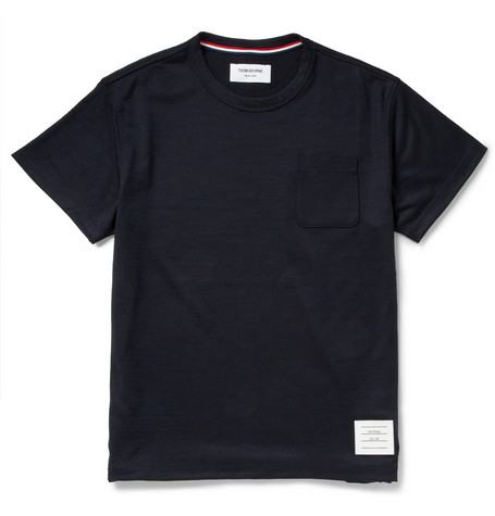 Thom Browne Wool-Jersey T-Shirt