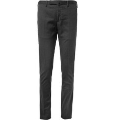 Slowear Incotex Slim-Fit Patterned Cotton-Blend Trousers