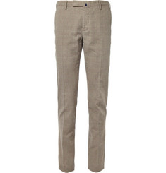 Slowear Incotex Slim-Fit Prince of Wales Check Cotton Trousers