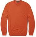 Incotex Crew Neck Wool-Blend Sweater