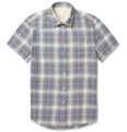 Rag & bone - Yokohama Short-Sleeved Cotton-Blend Shirt