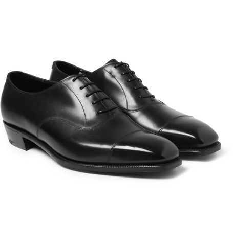 George Cleverley Anthony Bodie Leather Oxford Shoes