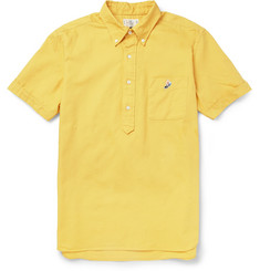 Beams Plus Cotton Oxford Short Sleeved Shirt