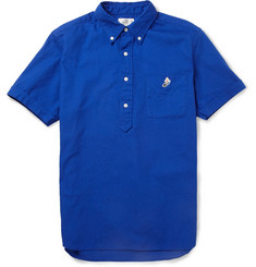 Beams Plus Cotton Oxford Short-Sleeved Shirt
