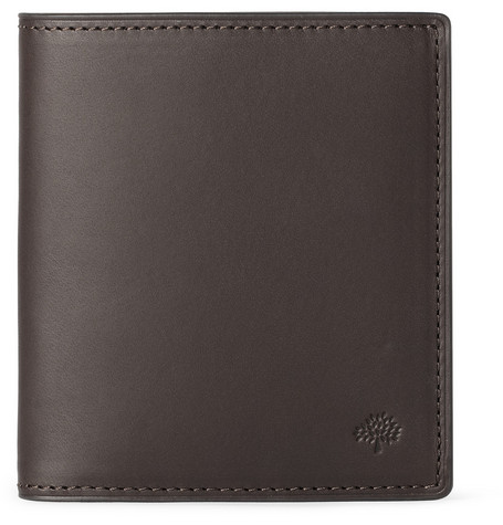 Mulberry Leather Trifold Wallet