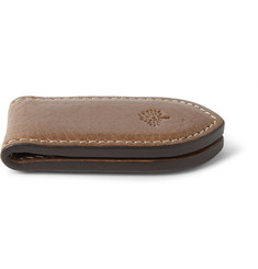 Mulberry Leather Money Clip