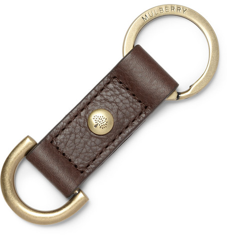 Mulberry Antony Leather Keyring