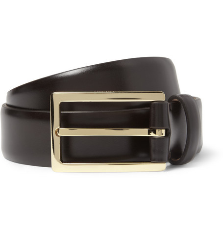 Mulberry Black 3cm Leather Belt
