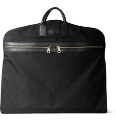Mulberry Henry Leather-Trimmed Nylon Suit Carrier