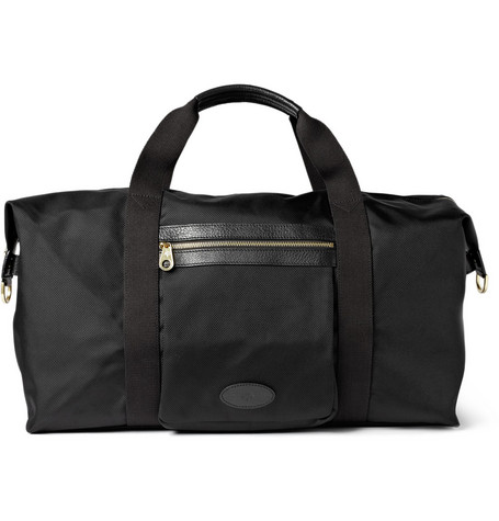 Mulberry Henry Leather-Trimmed Nylon Bag